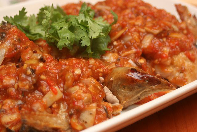 Roasted Chicken with Special Spicy Paste