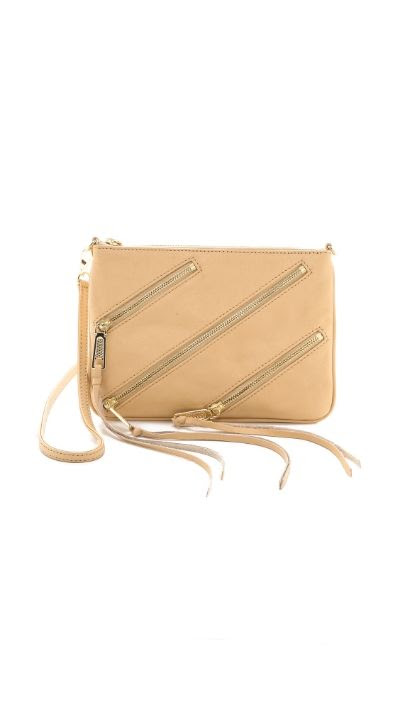 Rebecca Minkoff Moto Rocker Bag in Biscuit