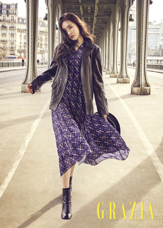 Sunmi - Grazia Magazine March Issue '17