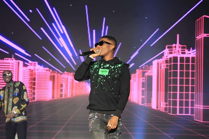 """""""2baba inspired me to make music"""" – Wizkid declares at #2babaLive"""