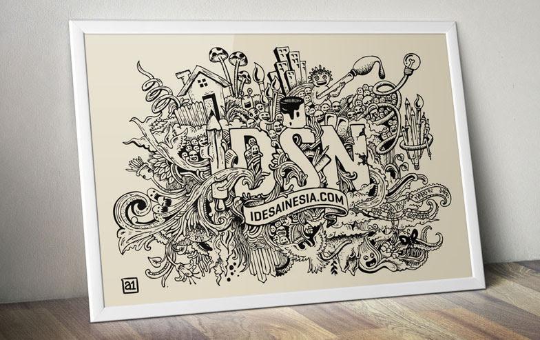 Melemaskan Jari Dengan Menggambar Doodle Arwanotes