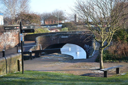 Aston Lock 1 Bridge, Birmingham & Fazeley Canal