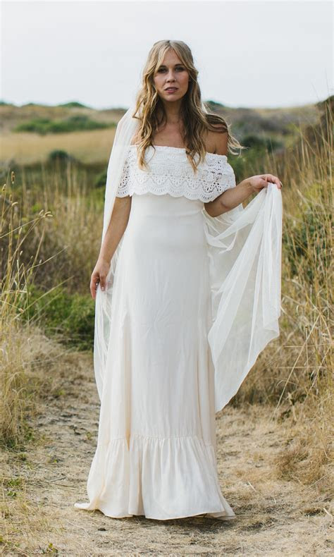 off the shoulder wedding dresses Archives   Bohemian