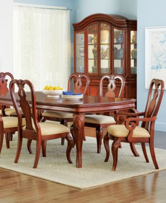 Bordeaux Louis Philippe-Style 7-Piece Dining Room Furniture Set ...