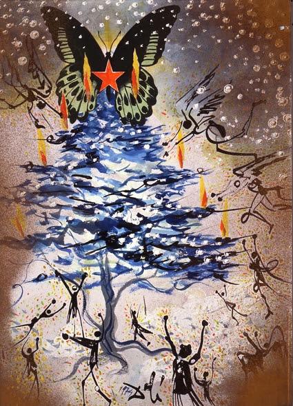 Navidad, Dali, 1974