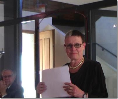 Ursula Hirsch in Brugg - Die Vernissage mit Annelise Zwez