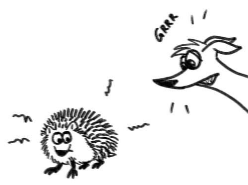 Comic-Whippet-meets-Hedgehog