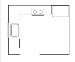 Kitchen Layout - The L Shaped Kitchen   Kitchen Land ...