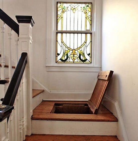 stairs hidden storage