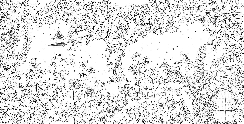 51 secret garden colouring book free download pdf 444 - Secret Garden Book