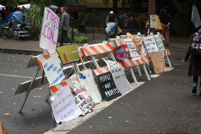 #OccupyPortland, 10/11/11