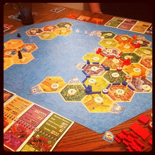 Settlers, Cities & Knights, and Seafarers