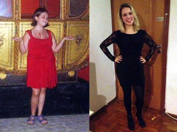 Jornalista foi obesa na adolescência, mas mudou seus hábitos (Foto:  Arquivo Pessoal/Fani Moraes)