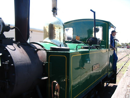 Oil fueled train Bellarine