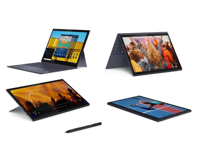 Lenovo introduces new Windows 10 detachable laptops