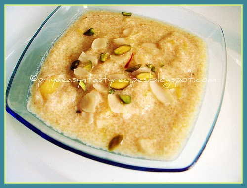 Cracked Wheat & Jackfruit Kheer