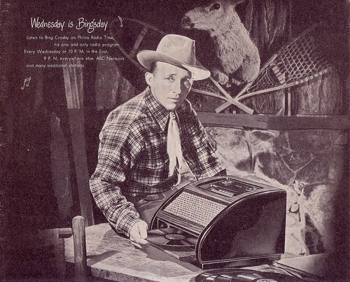 philco bingcrosby 1940s