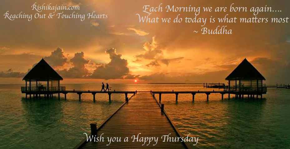 Good Morning Wish You A Happy Thursday Inspirational Quotes