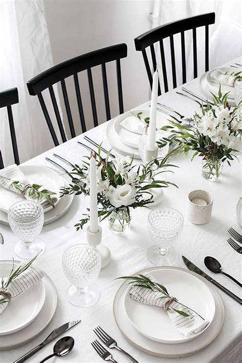 5 Tips to Set a Simple and Modern Tablescape