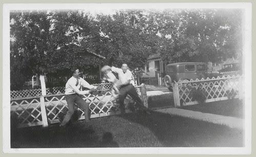 Kid tossing