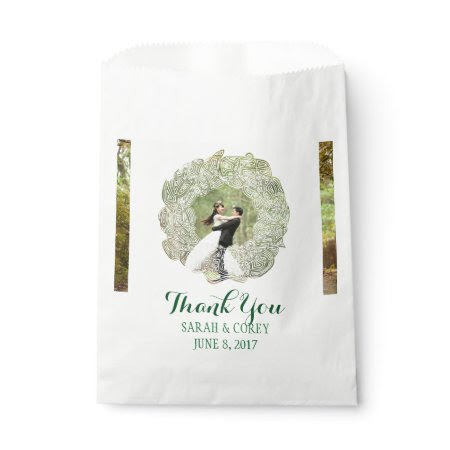 Wedding Wreath Favor Bags
