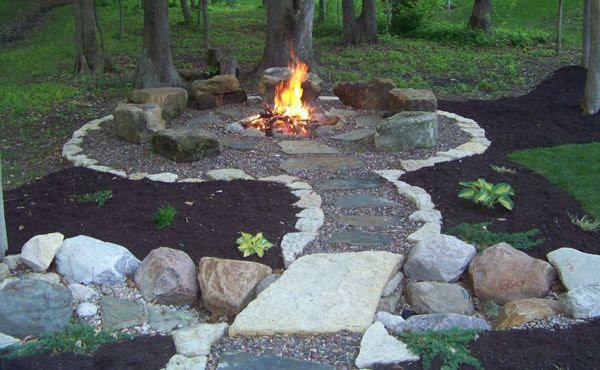 Back Yard Fire Pit Ideas