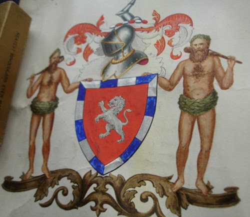 The arms of Hugh Robert Wallace