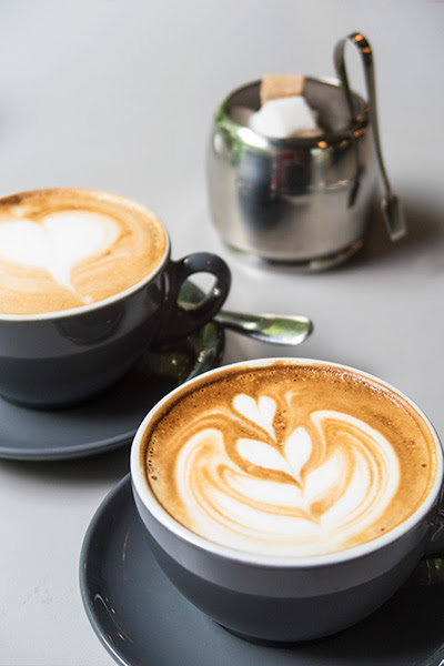 Bochinche Argentinian Brunch Flat White and Cappucino
