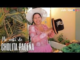 """""""Me vestí de cholita paceña"""" - Julia Irigoyen (Video)"""