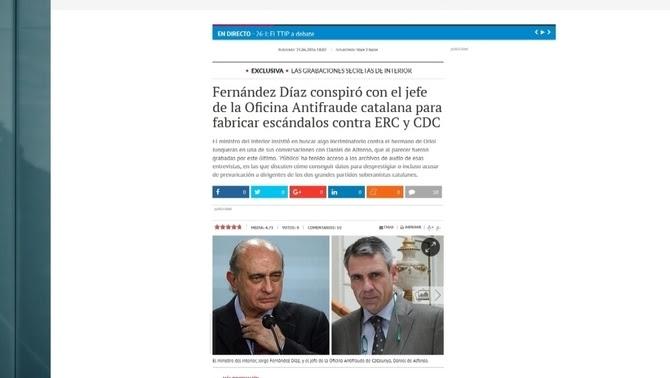 Imatge del web de Público