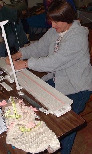 N. Sue2 knitting