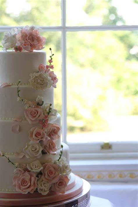 Floral Wedding Cake Decorations   The Fairytale Pretty