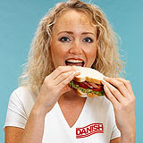Danish buttie girl: must stay at least 100 yards away from