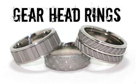 Tire Tread Rings: The Best Titanium Tread Rings