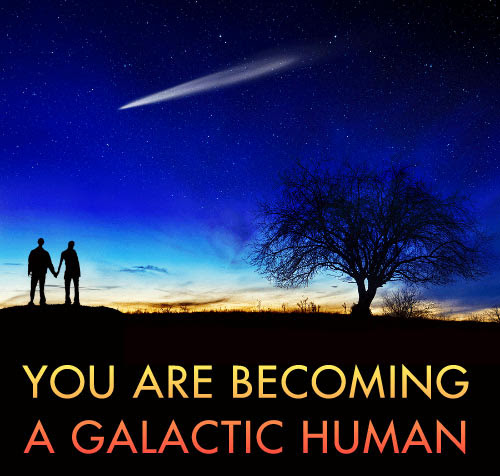 You are Becoming a Galactic Human Image
