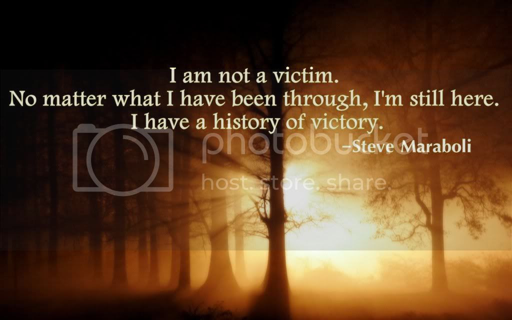@BatteredHope  Victim or Victor
