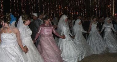 حفل زفاف جماعى بأسيوط – صورة أرشيفية