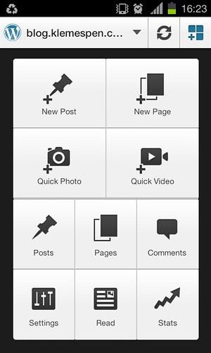 WordPress for Blackberry