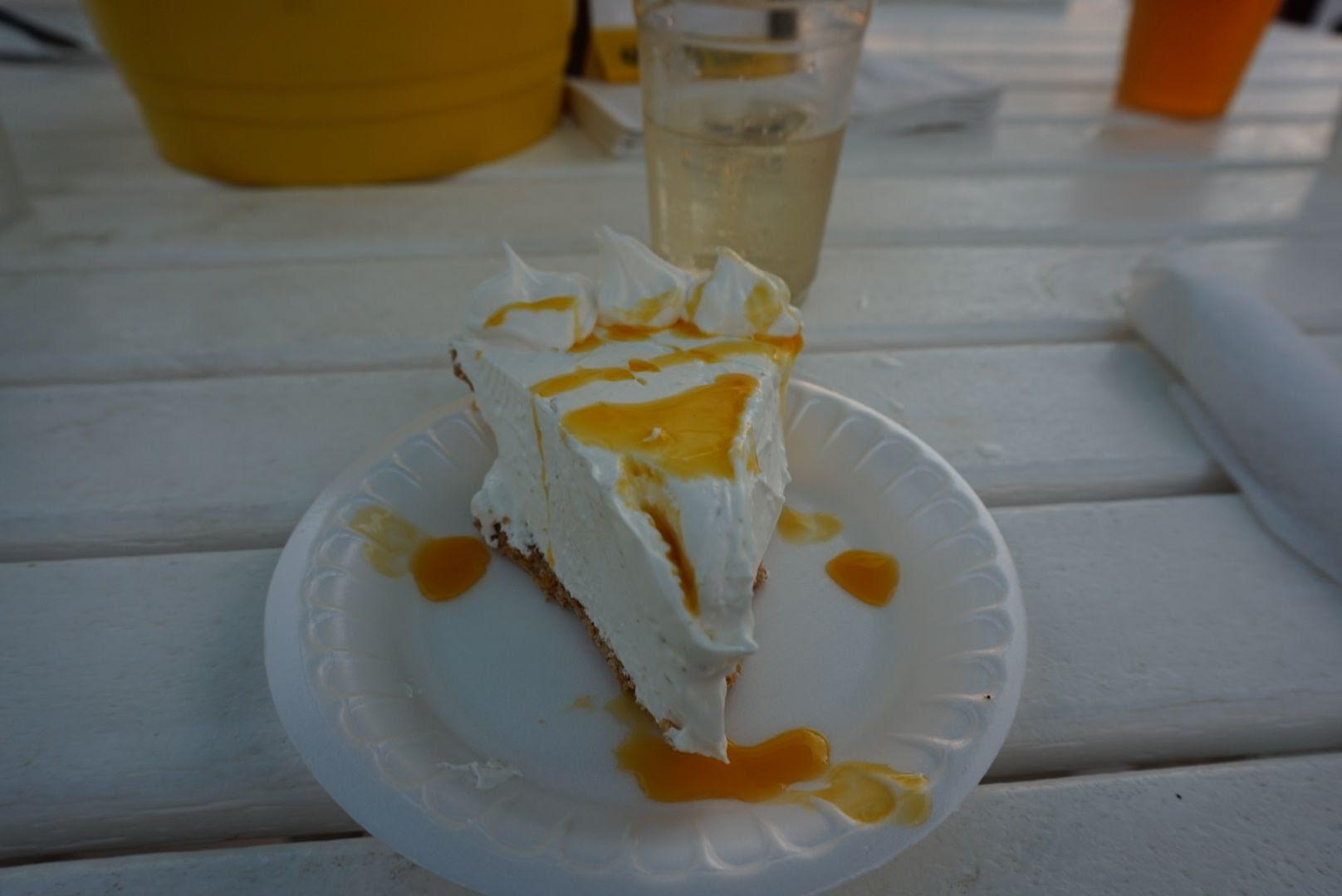 Key Lime Pie at Lorelei Cabana Bar