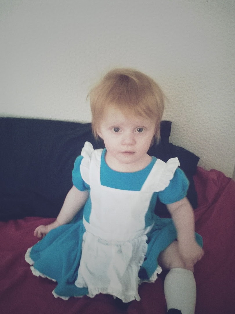 Marianna as Alice in Wonderland