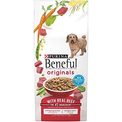 Purina Beneful Originals With Real Beef Dry Dog Food - 6.3 lb. Bag