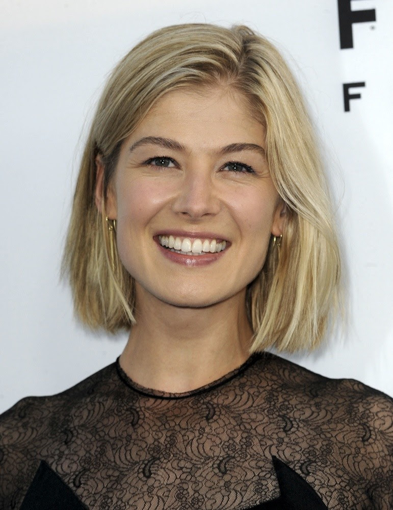 Rosamund Pike Gone Girl Haircut