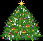 Large Transparent Christmas Deco Tree