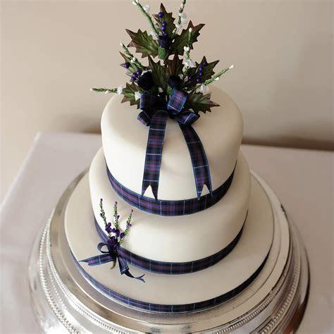 2 Tier Scottish Wedding Cake