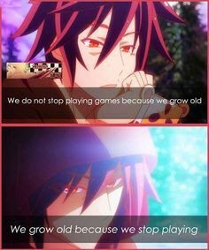 No Game No Life Quotes Anime Amino