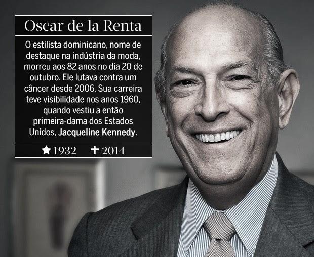 Oscar de la Renta (Foto: ARTE: EDUARDO GARCIA)