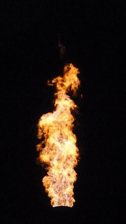 LD converter gas flame 4