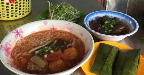 Bún riêu cua đông khách nhất quận Tân Phú