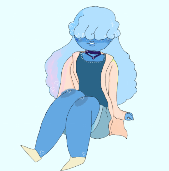 Real talk, Sapphire would be a cute clothes model.