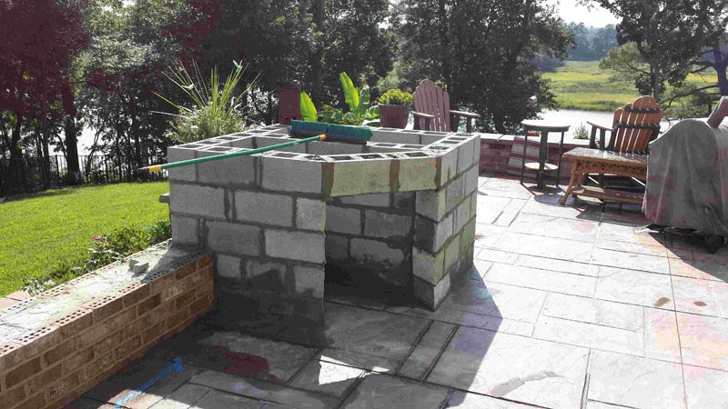 Watch This Outdoor Kitchen Project In Pictures Please See Our